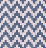 Seamless pixelated chevron pattern Royalty Free Stock Image
