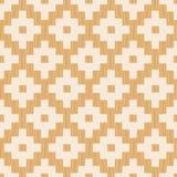 Seamless pixelated rhombus tiles pattern Stock Photo