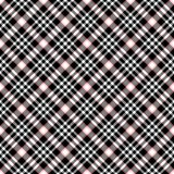Seamless Plaid Stock Photography