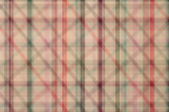 Seamless plaid fabric loincloth with stripe color abstract bac Stock Image