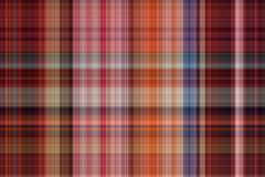 Seamless plaid fabric loincloth with stripe color abstract bac Stock Images