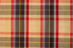 Seamless plaid fabric loincloth with stripes colorful abstract b Royalty Free Stock Photo