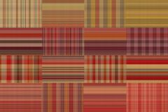 Seamless plaid fabric loincloth with stripes colorful abstract background pattern texture Stock Photography