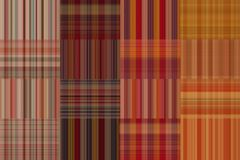 Seamless plaid fabric loincloth with stripes colorful abstract background pattern texture Royalty Free Stock Photos