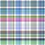 Seamless Plaid Fabric Stock Image