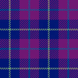 Seamless Plaid fabric texture cells with stripes Scotland patter Royalty Free Stock Image