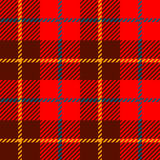Seamless Plaid fabric texture cells with stripes Scotland patter Stock Images