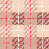 Seamless Plaid fabric texture cells with stripes Scotland patter Stock Photos