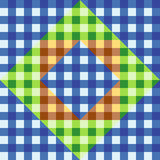 A Seamless plaid Patchwork pattern Royalty Free Stock Photos