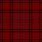 Seamless plaid pattern. Red seamless plaid pattern illustration Royalty Free Stock Image