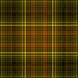 Seamless plaid pattern. Yellow seamless plaid pattern illustration Stock Photo