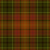 Seamless plaid pattern. Seamless checkered plaid pattern illustration Stock Photos