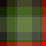 Seamless plaid pattern. Green and red seamless plaid pattern illustration Royalty Free Stock Photo