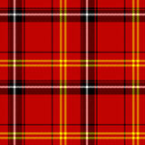 Seamless plaid pattern Stock Photos