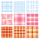 Seamless plaid pattern Royalty Free Stock Photography