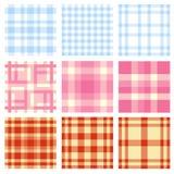 Seamless plaid pattern Royalty Free Stock Photography