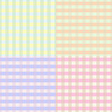 Seamless plaid pattern Royalty Free Stock Photo
