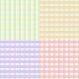 Seamless plaid pattern Royalty Free Stock Photo