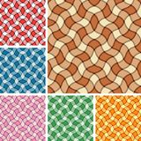 Seamless plaid patterns. Collection of seamless plaid patterns. Volume 10 vector illustration