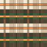 Seamless plaid tartan pattern. Royalty Free Stock Photo
