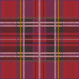 Seamless plaid texture Royalty Free Stock Photos