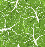 Seamless plant pattern, vector Stock Photography