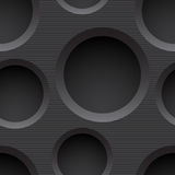 Seamless plastic background with holes Stock Photos