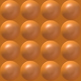 Seamless plastic bubble pattern Royalty Free Stock Photography