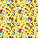 Seamless playground pattern Royalty Free Stock Image