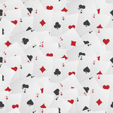 Seamless Playing Card Background Stock Photos