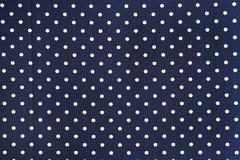 Seamless polka dot background Stock Photography