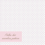 Seamless polka dot background Royalty Free Stock Photography