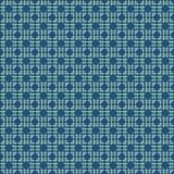 Seamless polka dot black circles on a blue speckled background. Seamless polka dot retro simple black circles on a blue speckled background Royalty Free Stock Photo