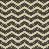 Seamless polka dot with chevron zigzag pattern. Geometric stripe with circles. Just drop to swatches and enjoy! EPS 10 vector illustration