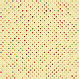 Seamless Polka dot pattern Stock Photos