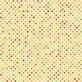 Seamless Polka dot pattern royalty free illustration