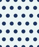 Seamless polka dot pattern. The blue circles on a white background. Vector illustration. Polka dot seamless pattern. The blue circles on a white background Royalty Free Stock Image