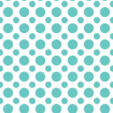 Seamless polka dot pattern. Colorful Easter texture Stock Photography