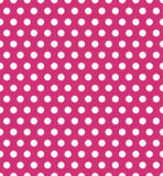 Seamless polka dot pattern. Colorful stamp for wrapper, fabric, apparel Stock Photo