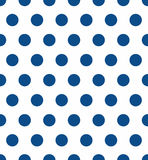 Seamless polka dot pattern. Colorful stamp for wrapper, fabric, apparel Royalty Free Stock Image