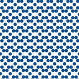 Seamless polka dot pattern. Colorful stamp for wrapper, fabric, apparel Royalty Free Stock Photos