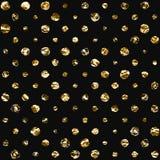 Seamless polka dot pattern. Royalty Free Stock Images