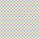 Seamless Polka Dot Pattern Stock Image