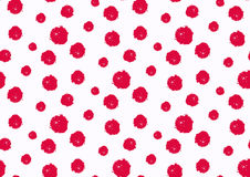 Seamless polka dot pattern. Hand painted grunge circles. Seamless polka dot pattern. Hand painted circles. Ink illustration Stock Images
