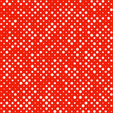 Seamless Polka dot pattern Royalty Free Stock Image
