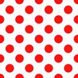 Seamless polka dot pattern. Royalty Free Stock Photo