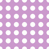 Seamless polka dot pattern Stock Photo
