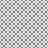 Seamless polka dot pattern Royalty Free Stock Photos
