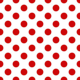 Seamless polka dot pattern Royalty Free Stock Images