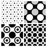 Seamless polka dots Royalty Free Stock Photo